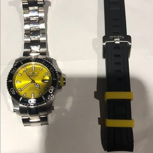 COPY - Invicta ProDiver Stainless Yellow sunray d…
